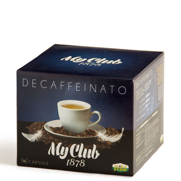 DECAFFEINATO MY CLUB