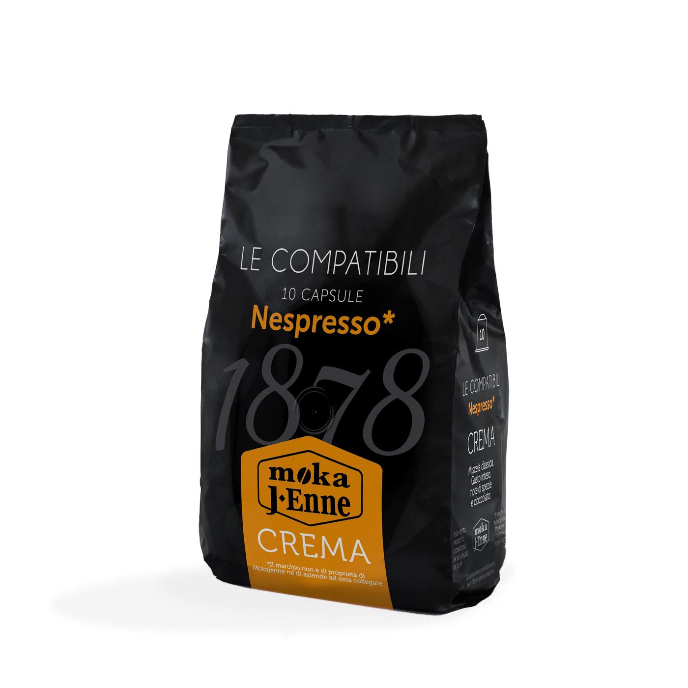 10 CAPSULE DI CAFFè COMPATIBILI NESPRESSO
